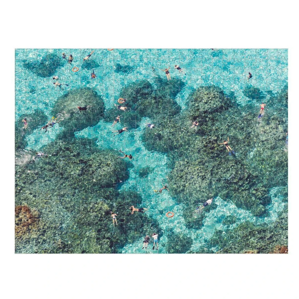 Gray Malin Beach And Reef Double Sided 500 Piece Puzzle