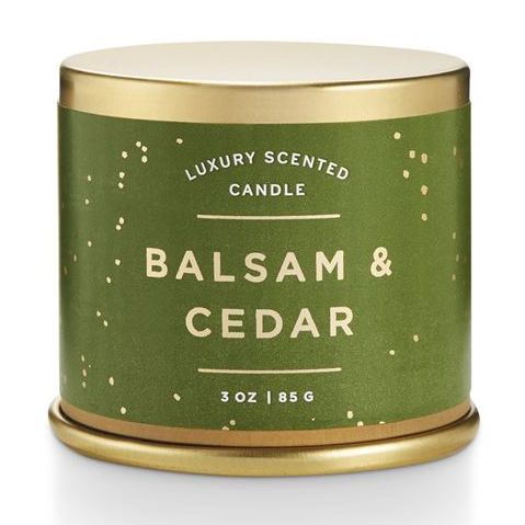 Illume's Holiday Winter Candles - Balsam Cedar