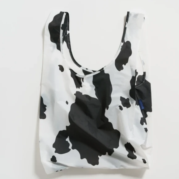 Baggu - Black and White Cow