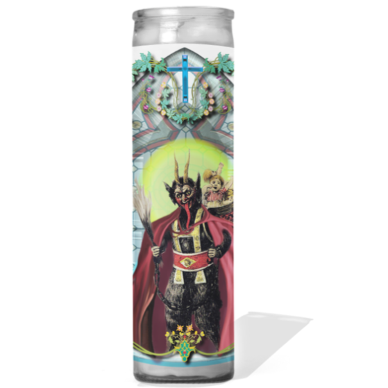 PRAYER CANDLE Krampus