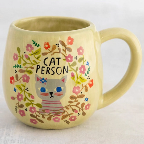 Happy Cat or Dog Person Mug