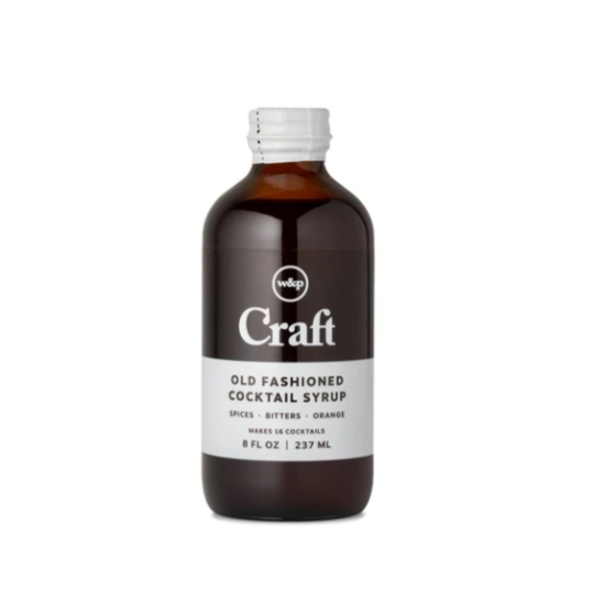 WP Craft Cocktail Syrups -  Old Fashioned