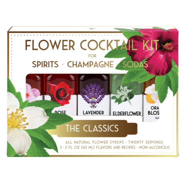 Flower Cocktail Syrup Kits