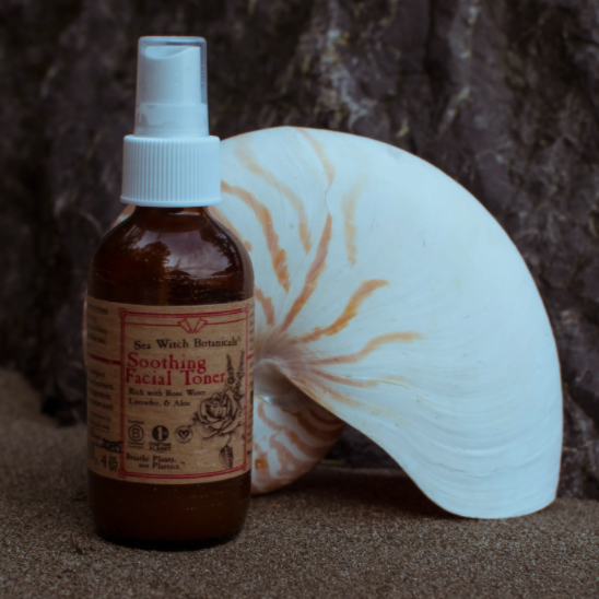 Sea Witch Botanicals Soothing Facial Toner