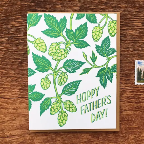 Father's Day Beer Hops Card
