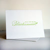 Will You be My Bridesmaid Letterpress Card