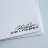 Personalized Letterpress Stationery Chicago