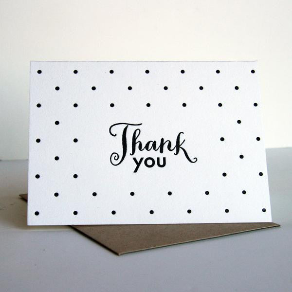Thanks Dots - Boxed Set | Steel Petal Press
