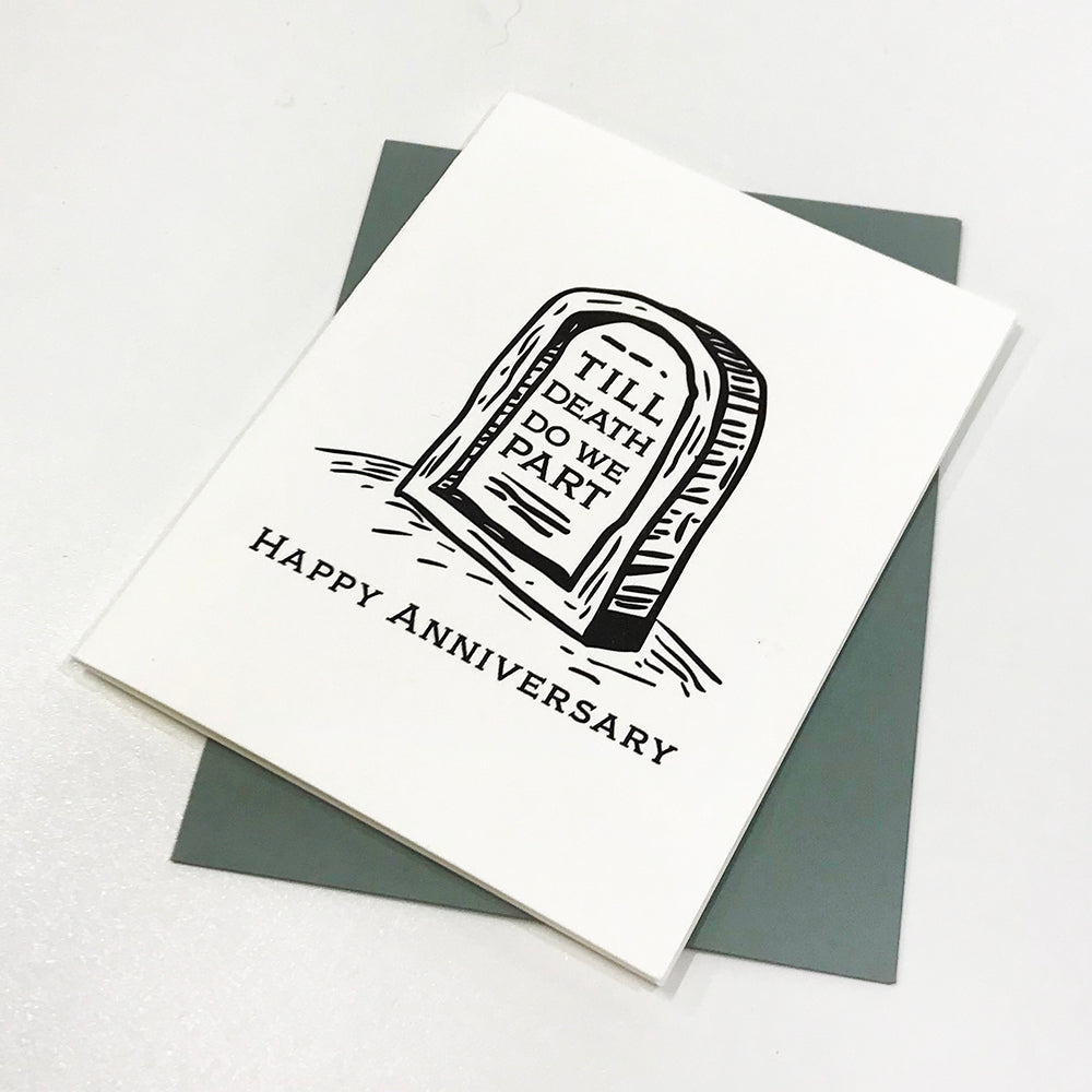 'Till Death Anniversary - Steel Petal Press