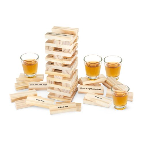 True Stack Group Drinking Game - Steel Petal Press