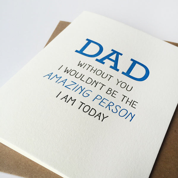 Who I Am Dad | Steel Petal Press