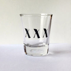 XXX Shot Glass