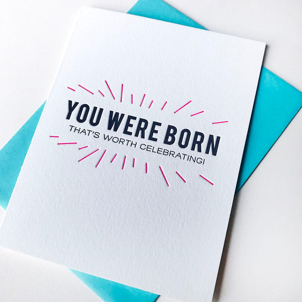 You Were Born | Steel Petal Press