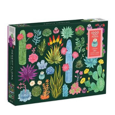 Desert Floral 1000 Piece Puzzle - Steel Petal Press