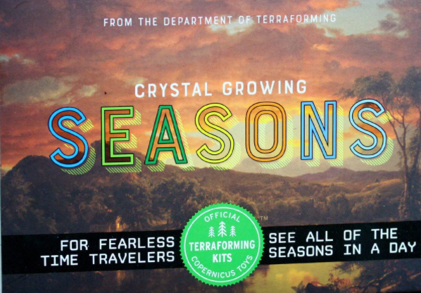 Crystal Growing Seasons Terra Forming Kit