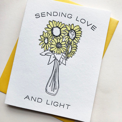 Love and Light Flowers - Steel Petal Press