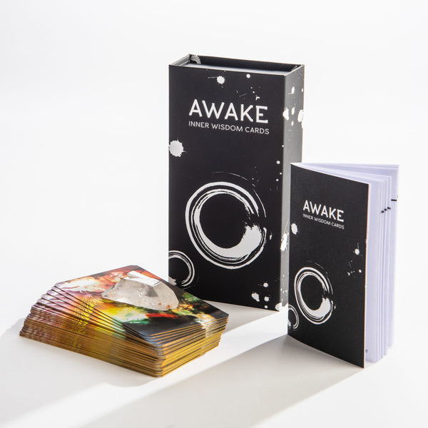 AWAKE Inner Wisdom Cards Oracle Deck - Steel Petal Press