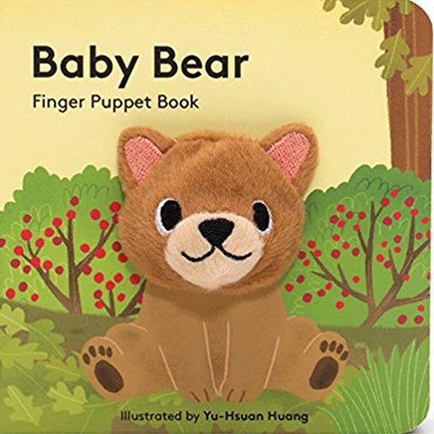 Finger Puppet Book: Baby Bear - Steel Petal Press