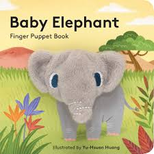 Finger Puppet Book: Baby Elephant - Steel Petal Press