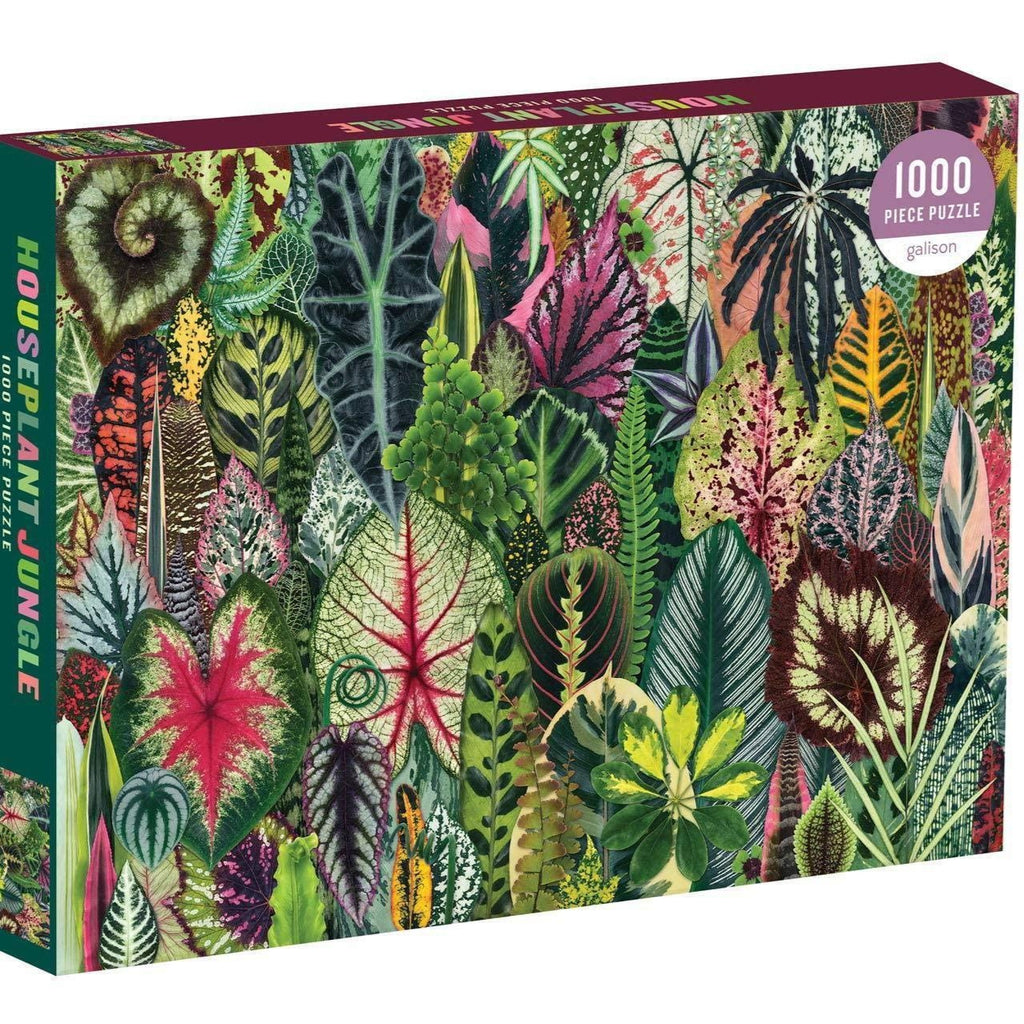 Houseplant Jungle 1000 Piece Puzzle - Steel Petal Press