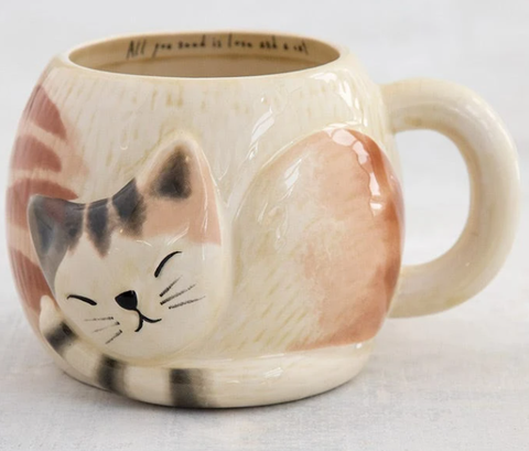 All You Need Is Love And Cat Mug