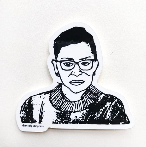 RBG Sticker - Steel Petal Press