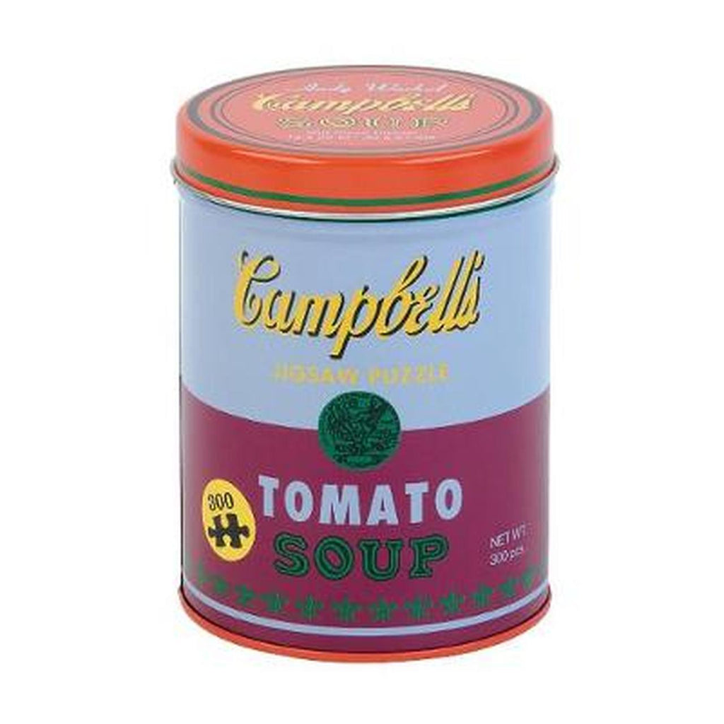 Tomato Soup Andy Warhol 300 Piece Tin Can Puzzle - CH - Steel Petal Press