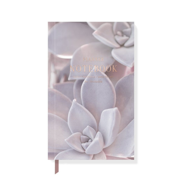 Desert Succulent Planner Notebook - Steel Petal Press