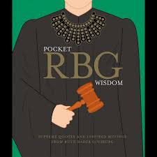 RBG Ruth Bader Ginsburg Pocket Wisdom Book - Steel Petal Press