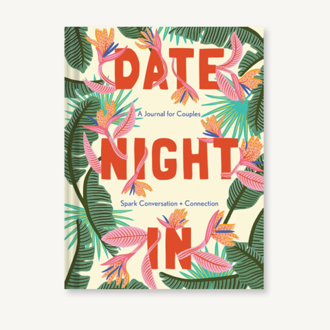 Date Night In -  A Journal For Couples - Steel Petal Press