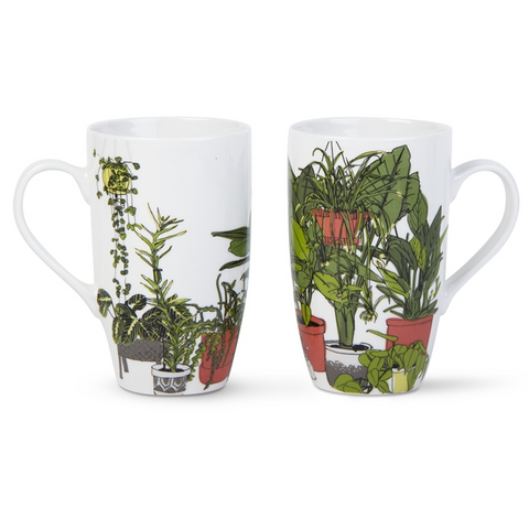 Potted Pot House Plant Plants Tall Mug - TAG