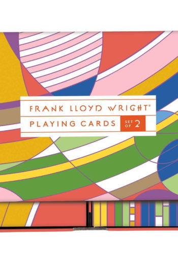 Frank Lloyd Wright Playing Cards - Steel Petal Press