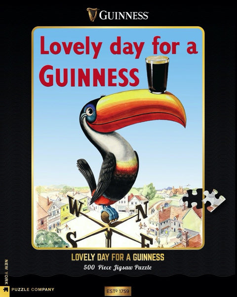 Lovely Day for a Guinness Puzzle - Steel Petal Press