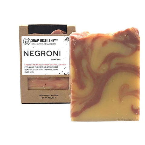 Negroni Soap Bar - Steel Petal Press