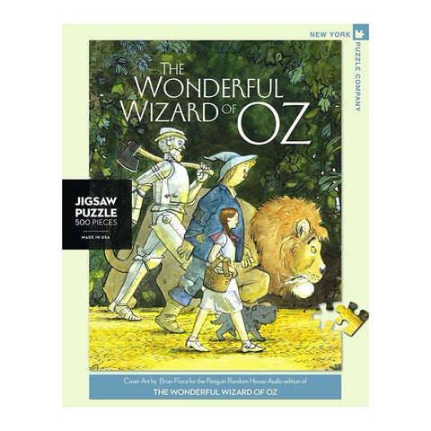 The Wonderful Wizard of Oz 500 Piece Puzzle - Steel Petal Press