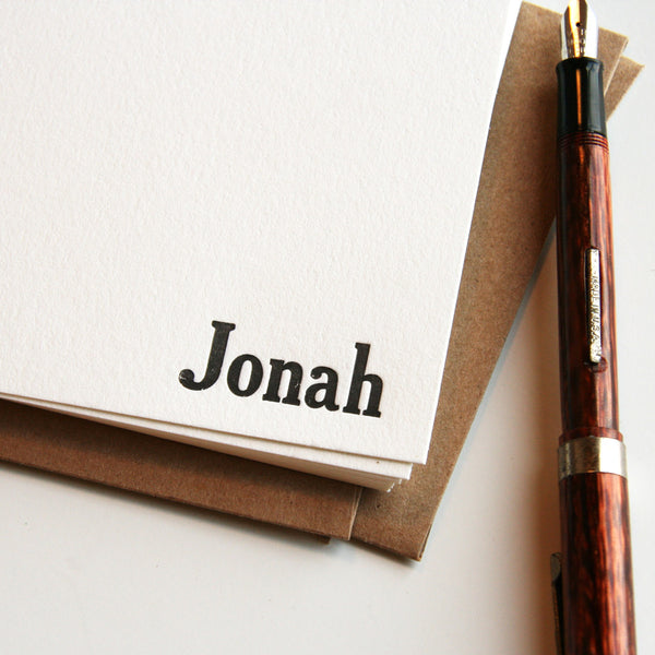 Jonah | Steel Petal Press