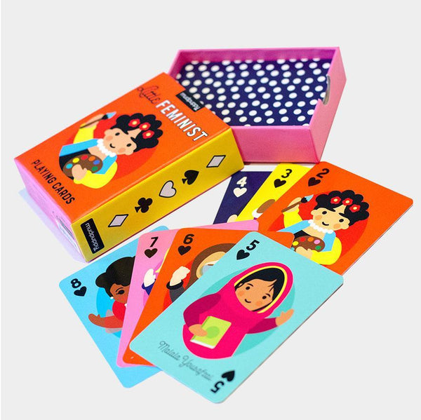 Little Feminist Playing Cards - Steel Petal Press