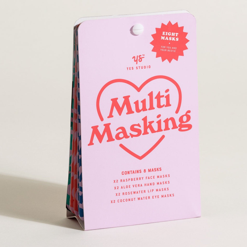 Multi Masking 8 Face Masks Set - Steel Petal Press
