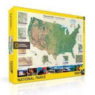 American National Parks Puzzle - Steel Petal Press