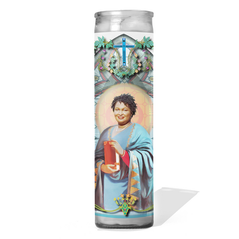 Stacey Abrams Prayer Candle