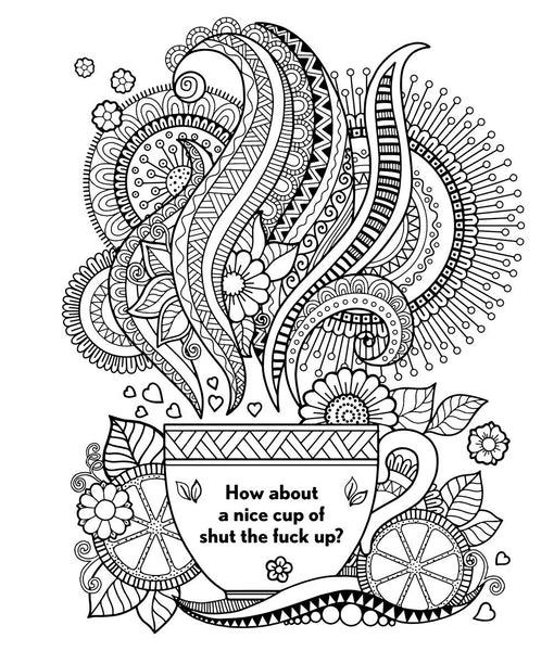 Swear Word Coloring Book - Steel Petal Press