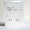 Gay Wedding Congratulations Letterpress Card