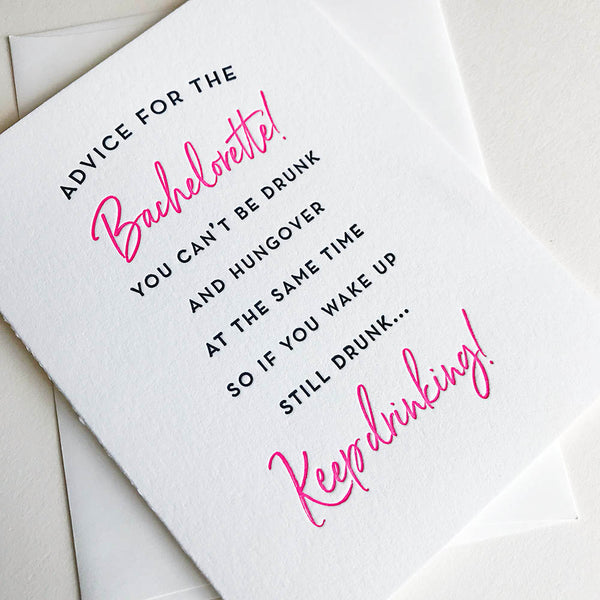 Bachelorette | Steel Petal Press