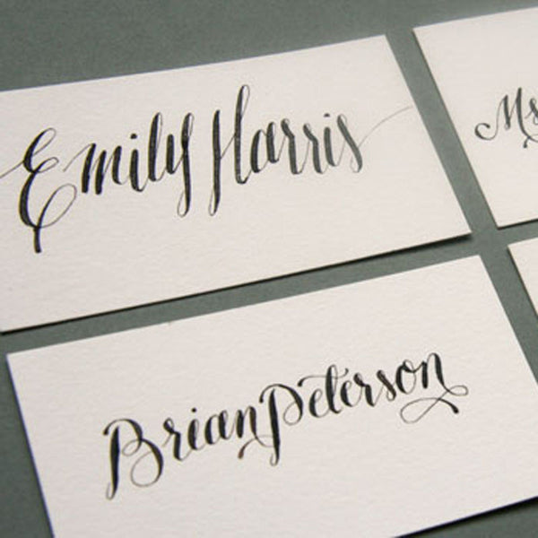 Escort and Place Cards | Steel Petal Press