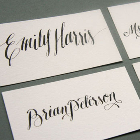 Escort and Place Cards - Steel Petal Press