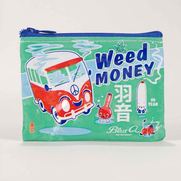 Weed Money Coin Purse - Steel Petal Press