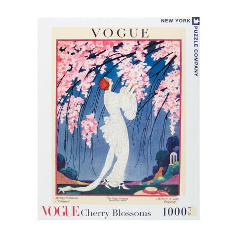 VOGUE Cherry Blossoms 1000 Piece Puzzle - Steel Petal Press
