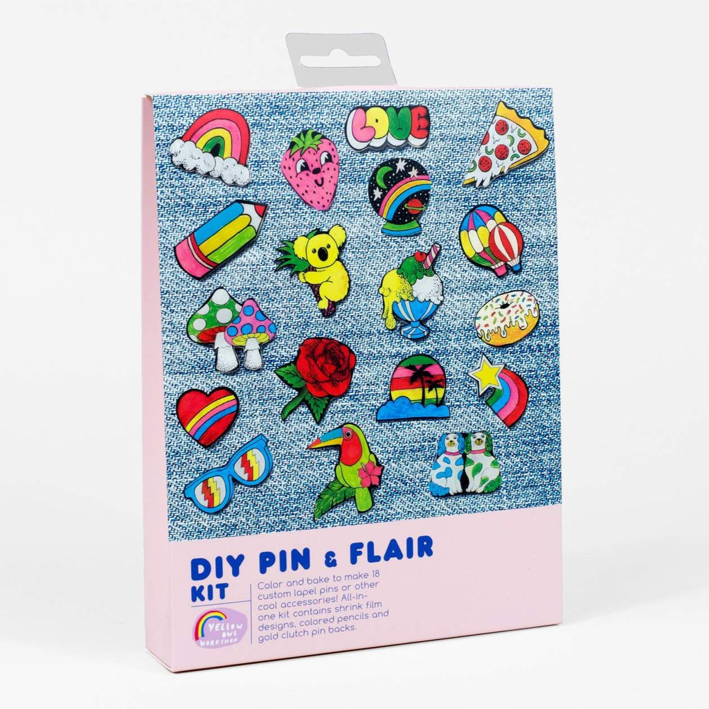 DIY Pin And Flair Kit - Steel Petal Press