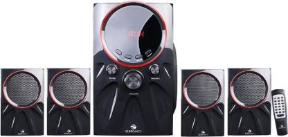 Zebronics Punk-4.1 60 W Bluetooth Home Theatre  (Black, 4.1 Channel)