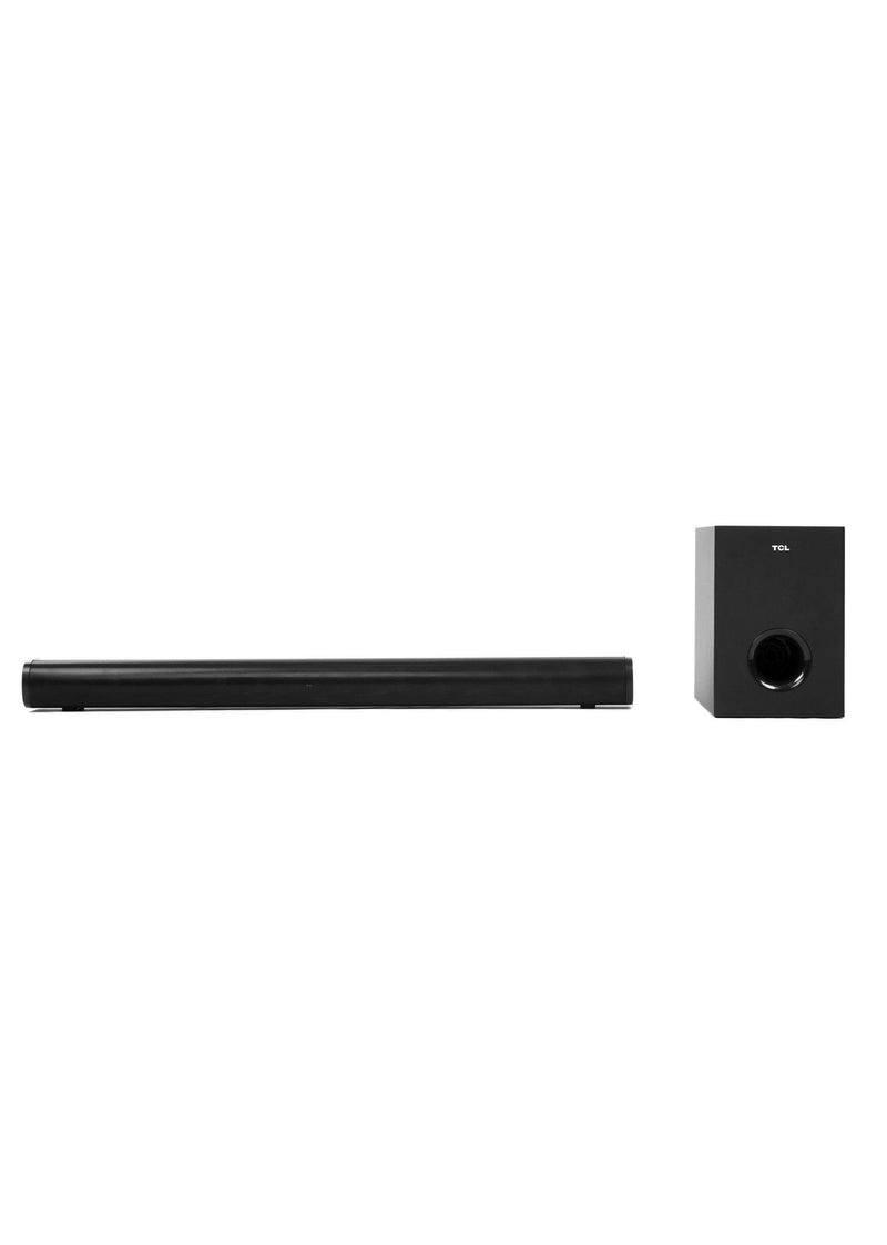 "TCL 2.1CH Channel Home Theater Sound Bar with Wireless Subwoofer - TS3015, Black, 32""(810mm)"